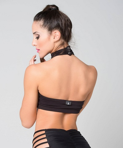 Eve Top - RAD Polewear black