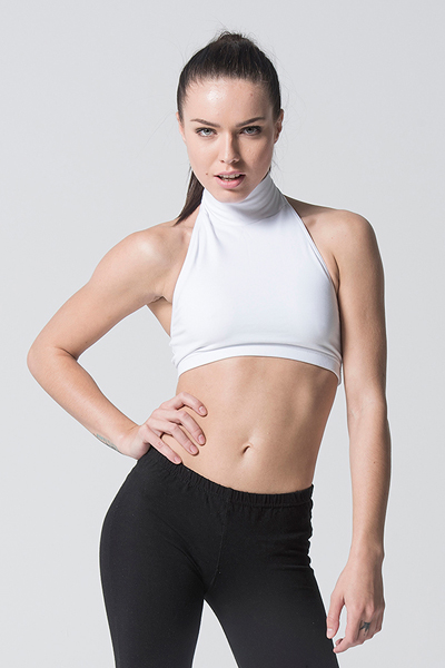 Eve Top - RAD Polewear white front