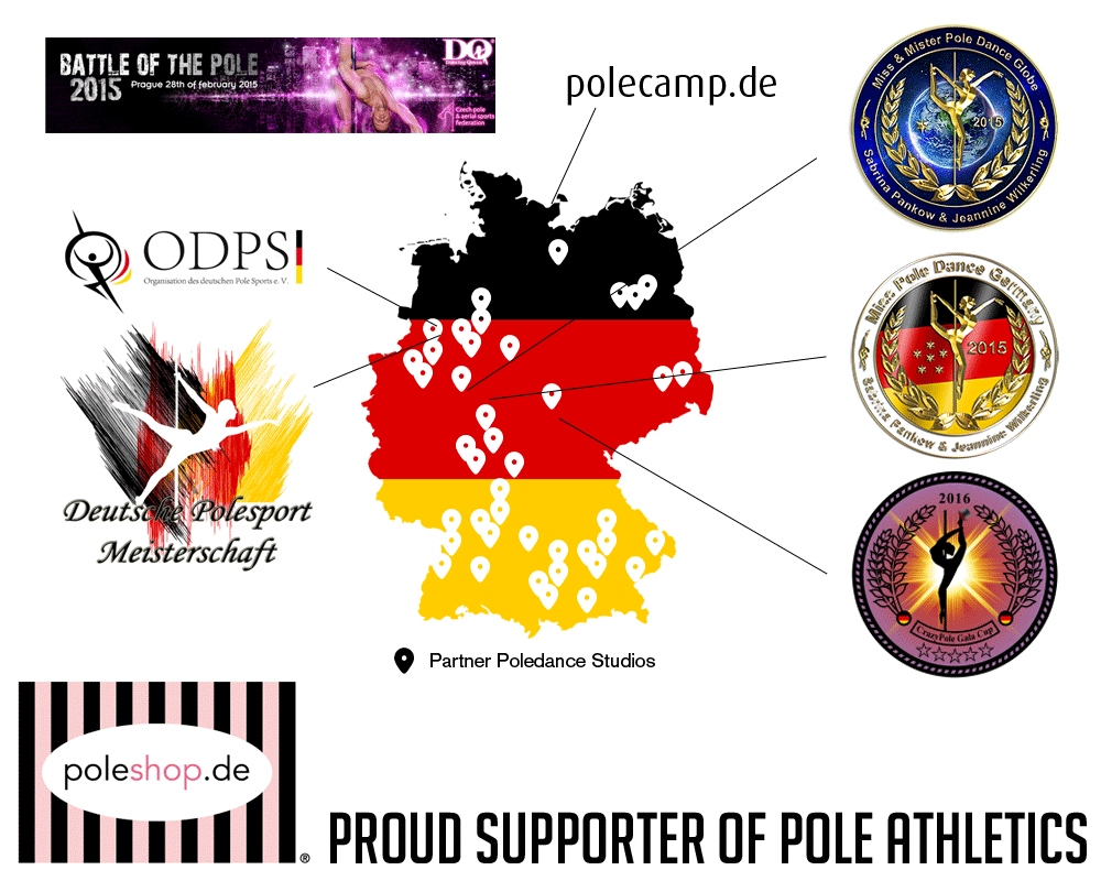 Poleshop.De Proud Supporter of Pole Athletics since 2011