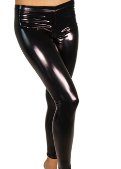 Heroine Liquid Vinyl Pole Dance Leggings von Cleo the Hurricane