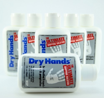Dry Hands - The Ultimate Grip Solution (pack de seis)