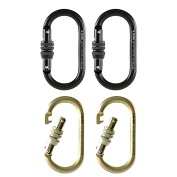 Carabiner Screw Gate (MBS 25kN) - Set of 2